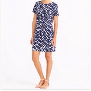 J crew factory polka dot dress